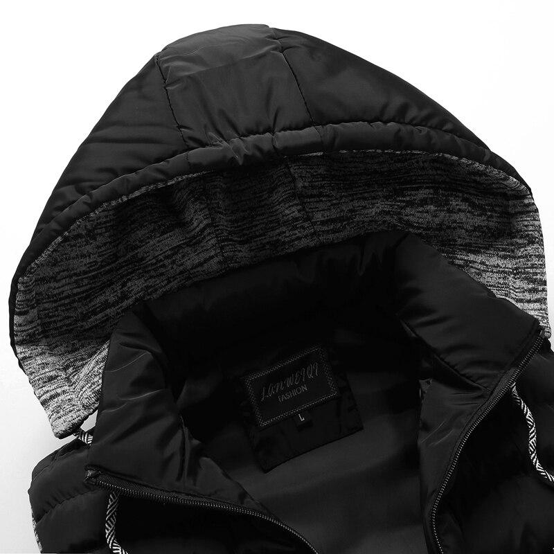 men\`s casual clothing fashion down jackets men leisure dress vests winter warm elegant korean streetwear trend coat vest for men (5)
