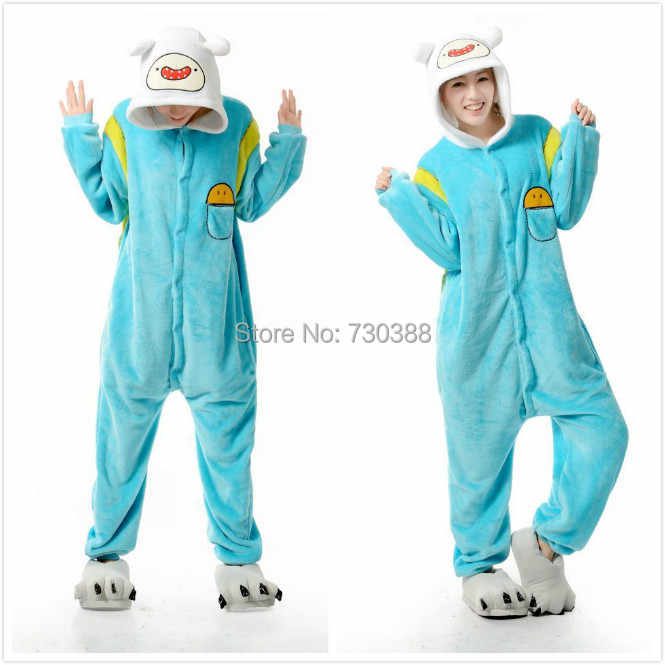 94779f5dda Detail Feedback Questions about Designer Anime Adventure Time With Finn And  Jake Cosplay Cosplay Pajamas Adult Female Male Onesie Fleece Sleepwear  Pyjamas ...