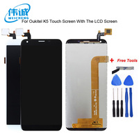 WEICHENG New model For Oukitel K5 LCD Replacement Digitizer Touch Screen + lcd display Scree assembly + tools