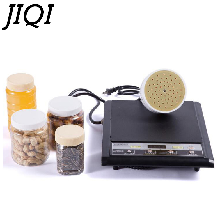 Electromagnetic induction bottle sealing machine aluminum foil capper Medical Plastic Bottle Cap Sealer Sealing Machine 20-100MM automatic foil film induction machine with rejector online air cooling foil bottle sealer aluminum film sealing machinery
