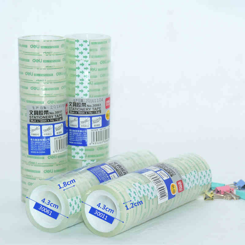 Wide 1.2cm/1.8cm Transparent Adhesive Tape, School Office Stationery,  Strong Adhesive Tape Wholesale CheapWide 1.2cm/1.8cm Transparent Adhesive Tape, School Office Stationery,  Strong Adhesive Tape Wholesale Cheap