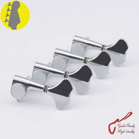 Original Genuine 4 In Line GOTOH GB707 4 Strings Electric Bass Machine Heads Tuners Chrome