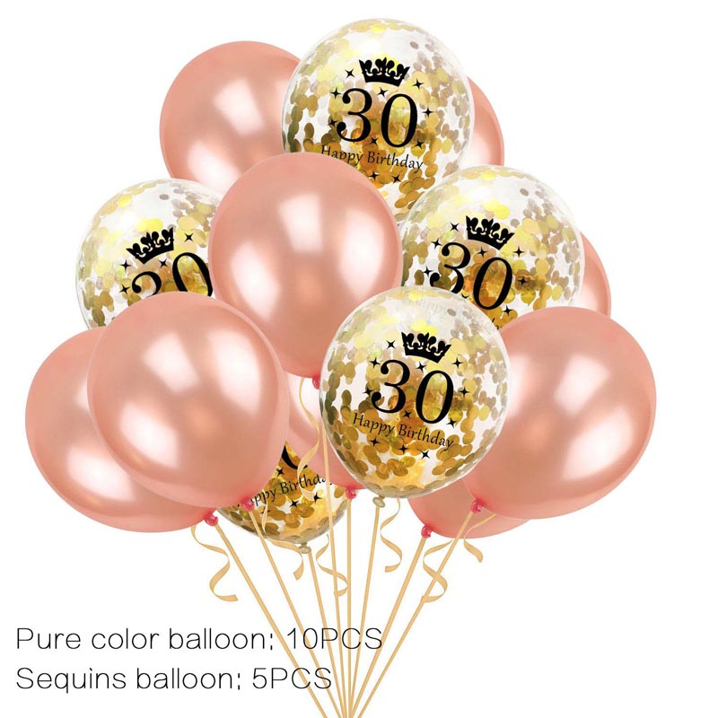 figure balloon latex 12inch years happy <font><b>18th</b></font> <font><b>birthday</b></font> balloons ball number balloon air balloon party decoration wedding ballons image