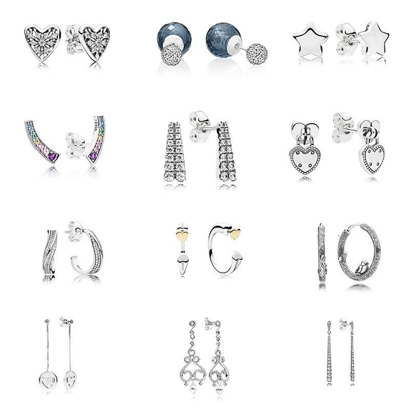 Beads Sterling Silver 925 Charm Crown Elf Skirt Elephants Goblet Champagne Bead For Original Pandora Bracelet Bangle Diy Women Jewelry