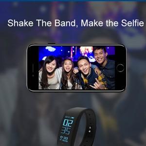 Image 4 - Smart Armband Fitness tracker Heart Rate Monitor passometer call nachricht erinnerung Kompatibel für andriod ios pkhuawei Band