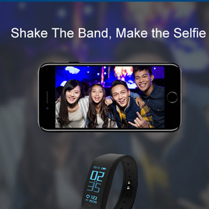 Image 4 - Smart Bracelet Fitness tracker Heart Rate Monitor passometer call message reminder Compatible for andriod ios pkhuawei Band