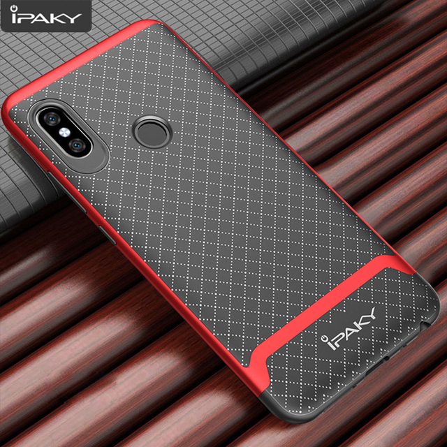 best website 2e6cc 92c19 US $4.24 15% OFF|for Xiaomi Redmi Note 5 Case iPaky Note 5 Global Ver  Silicone PC Bumper Hybrid Protection Cover for Xiaomi Redmi Note 5 Pro  Case-in ...