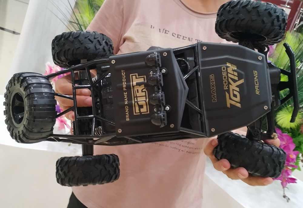 RC รถ 1/12 4WD Rock Crawlers 4x4 Double มอเตอร์ Bigfoot รีโมทคอนโทรลรถ off-Road Toy Toy ของขวัญ