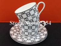 luxury bone china tea cups with saucer coffee cup and Saucer Set ceramic tea set porcelain coffee set friends gift
