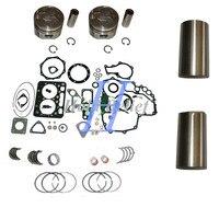 Z482 revisão do motor reconstruir kit std com forro para trator kubota t1600h Kits p/ reconstrução do motor     -