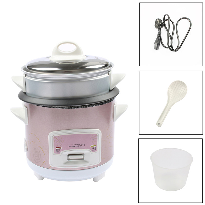 DMWD 1.5L Mini Automatic Rice Cooker Electric Food Steamers Non-stick Cake Maker For Home Top Quality 350W 220V цена и фото