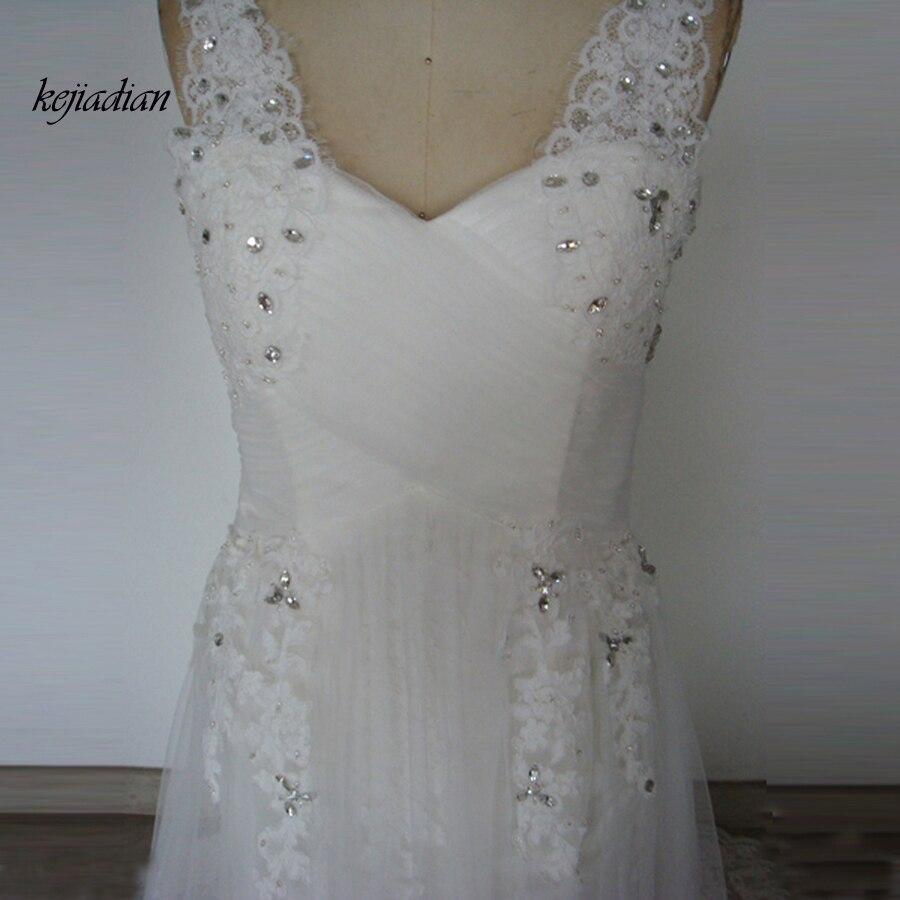 Spitze Schlitz Boho Braut Hochzeit Kleider Westlichen Stil ...