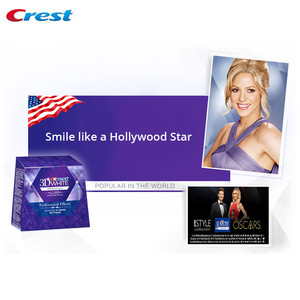 Image 2 - 3D White Professional Effects Whitestrips Teeth Whitening Kit Remove 14 Years of Stain Enamel safe Ingredient