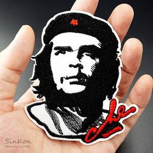 Che Guevara (Размер: 8, 0 х9, 3 см), тканевые значки «сделай сам», патчи, наклейки для одежды, украшение для одежды