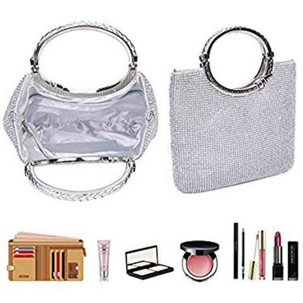 Новинка 2018, хит продаж, модные высококачественные женские сумки, женские сумочки, стразы + атласные сумочки, вечерние сумочки, свадебные клатчи, сумочки