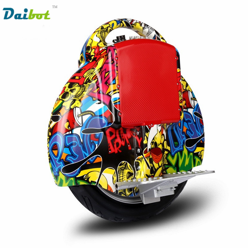 Daibot 14 inch Electric hoverboard One Wheel Self balance balancing Scooter unicycle Monowheel Monocycle with Training Wheel ul2272 9bot one a1 single wheel smart scooter electric self balance monowheel hoverboard skateboard unicycle hover board