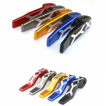For KYMCO AK550 2017 Motorcycle accessories Stands Parking Brake Lever CNC Aluminum Motorbike Levers