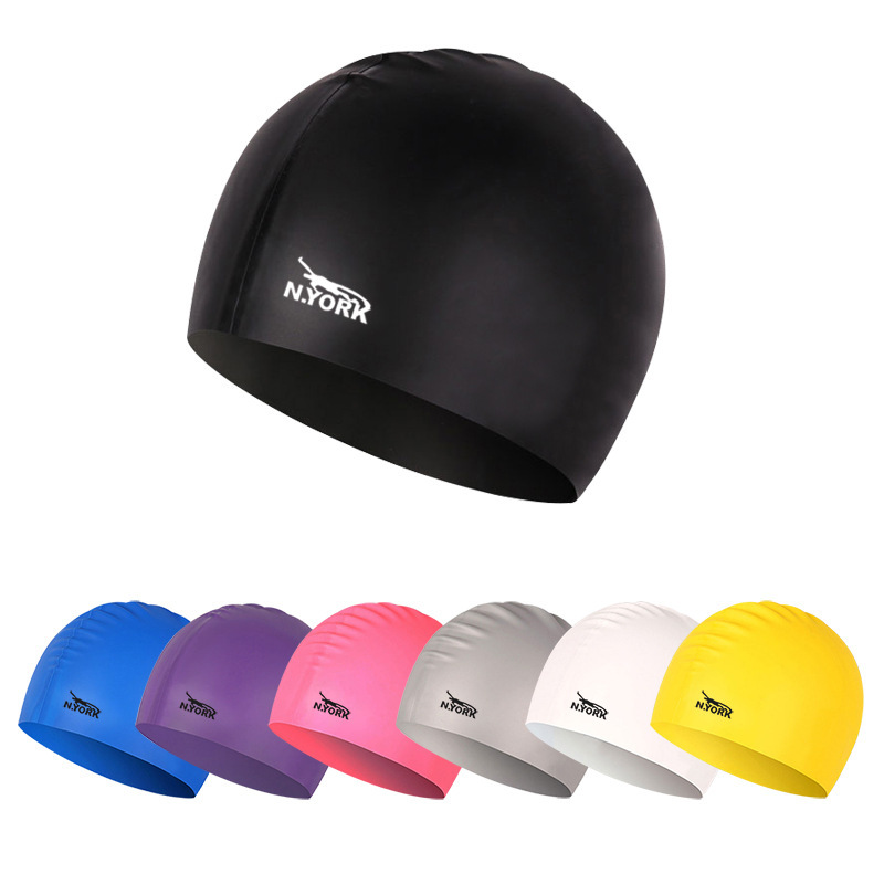 2018 Silicon Waterproof Swimming Caps Protect Ears Long Hair