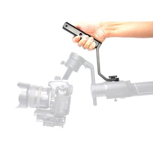 """Image 4 - Back Portable Extension Arm Bracket with 1/4"""" Screw Mount for MOZA Air2 Gimbal for Video Light Mic Accessories"""