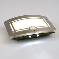 Body Motion Sensor Activated Battery Operated LED Wall Lamp Night Light Outdoor