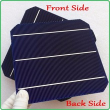 Newest solar panel cell double-side Max 6.4W/pc Monocrystalline Mono solar cell 6×6 with enough 40m tab wire and 5m busbar wire