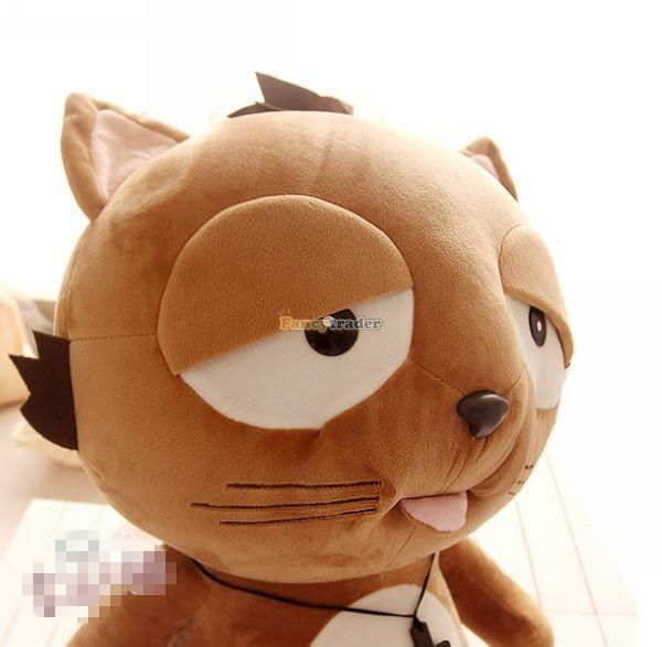 Fancytrader 35\'\' 90 Korean TV Soaps Plush Stuffed Lzay Dinga Cat, Free Shipping FT50250 (9)