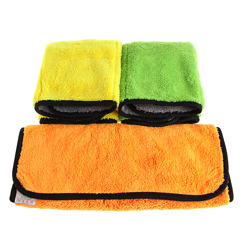 45x38cm Ultra Thick Plush Microfiber Durable Car Cleaning Towel Buffing Cloths