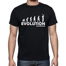 Evolution Electrician T-shirt
