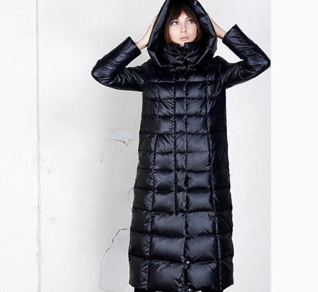 2016 otoño y el invierno de la moda de alta calidad de diseño delgado largo abajo cubren a la hembra over-the-knee alargan engrosamiento