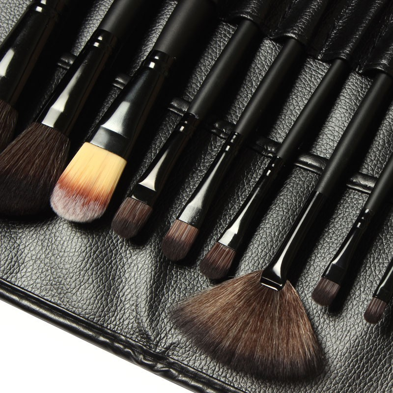 Complete makeup brush set mac