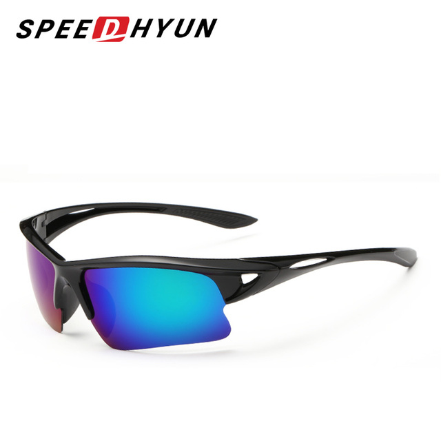 2e9c6ef3ad706 SPEEDHYUN Nouvelle Mode Super Lumière Polarisée lunettes de Soleil Hommes  Femmes Concepteur De Marque Sporting Lunettes
