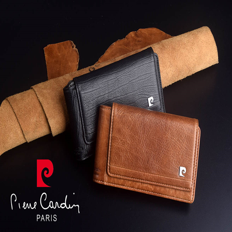 Pierre Cardin Retro Genuine Leather Case For Apple iPhone XS Max XR Phone Pouch 11 Pro max Hanging Style Belt Bag