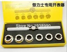 a94c037df89 Nova Inspeção Repair Tool Para ROLEX TUDOR Parafuso de Volta Caso Opener  Removedor conjunto kit