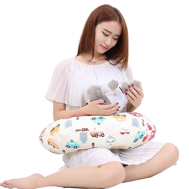 Portable pregnancy body maternity breastfeeding pillow baby nursing pillow pregnant women newborn case breast feeding cover leaf pillow case cover 1pc