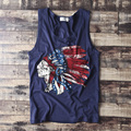 men new arrival tanks tee boys fashion classic head portrait personalized 5XL 4XL plus size male Indiana natives good quality