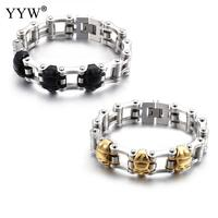 Peut choisir Hommes de Bracelets de Santé Magnétique Puissance 316 Acier Inoxydable Charme Bracelet Bijoux Pour Hommes Bracelet