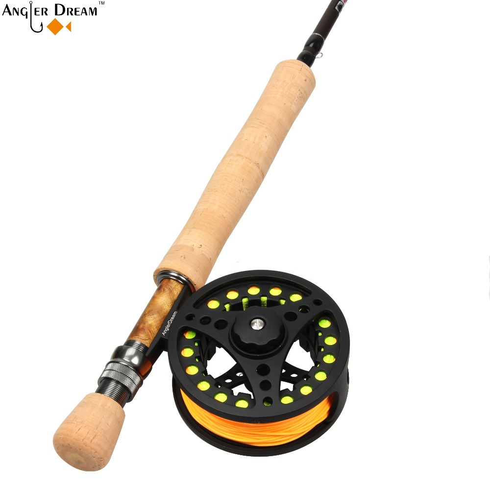 8wt fly rod combo 9ft carbon fiber fly fishing rod 7 8wt for Fiber in fish