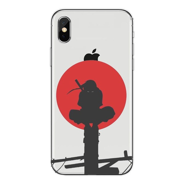 Anime Naruto Soft TPU Silicone Case For iPhone