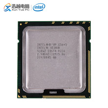 Intel Xeon E5645 Desktop Processor Six-Core 2.40GHz L3 Cache 12MB 5.86 GT/s QPI LGA 1366 SLBWZ 5645 Server Used CPU(China)