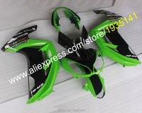 Лидер продаж, тюнинг пакет для Kawasaki Ninja пластик обтекатель ER 6F 2012 2015 зелено черный кузов ER6F 12, 13, 14, 15 лет, ER 6F 650R передка