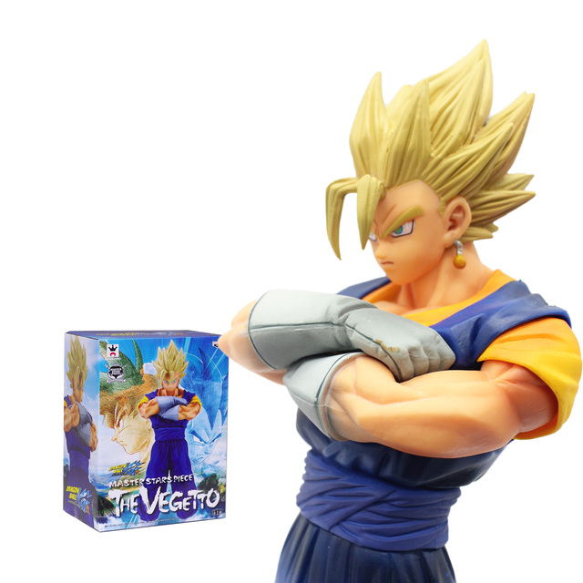 18CM Japanese Anime Dragon BALL Z Master Starspiece VEGETTO SON GOKU GOHAN Vegeta Kakarotto Action Figure PVC Model Toy