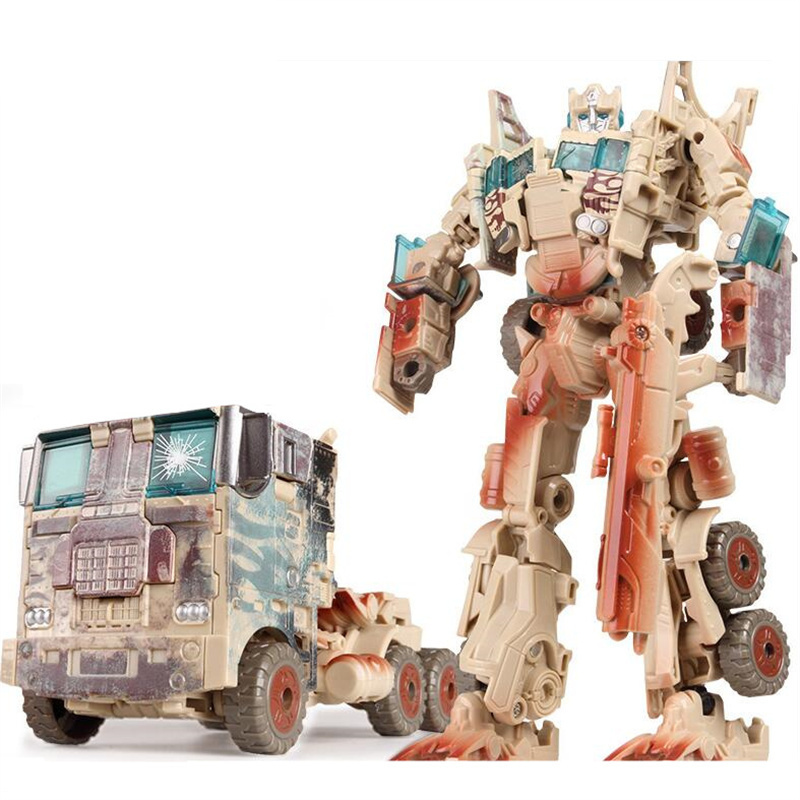 Cool Anime Transformation 5 Toys Action Figures Car Robot Brinquedos Tank Plastic ABS Anime Classic Toys