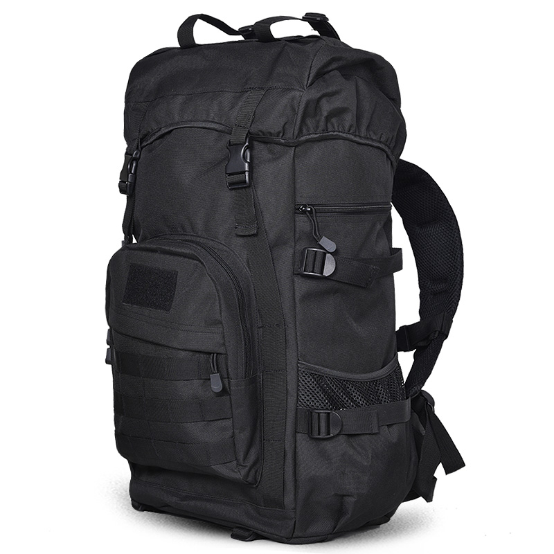 ФОТО 50L Large Capacity Waterproof Backpack Men and Women Shoulder Bag Teenagers Casual Travel Backpacks Many Colors