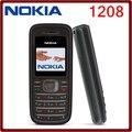 Оригинальный Мобильный Nokia 1208 Дешевые телефоны GSM открыл телефон Бесплатная доставка