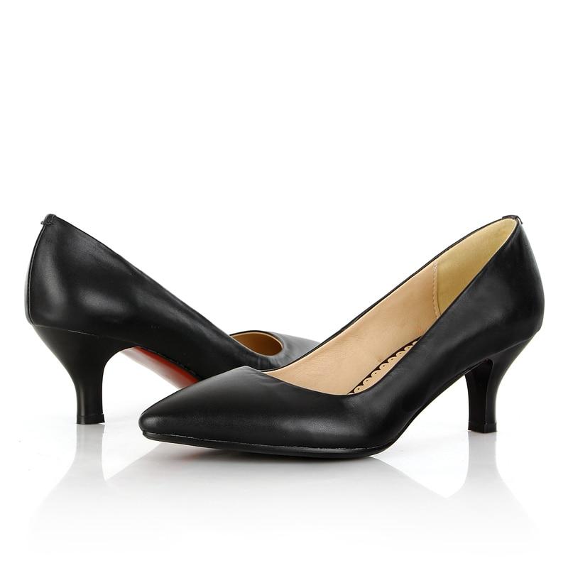 Lenksien в сдержанном стиле туфли на танкетке; обувь на платформе; обувь из кусочков кожи с острым носком на шнуровке женские туфли лодочки из на... - 6