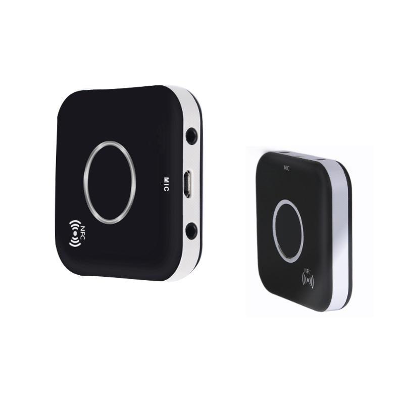 Ostart Tragbare Drahtlose Bluetooth Audio Empfänger Dual 3,5mm Aux Ausgang Audio Adapter Mit Nfc Mic Noise Conceling Tragbares Audio & Video
