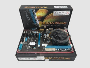 Multifunctional BTC mining board ETH miners (with cpu)motherboard 8 graphics card large board HM7X-BTC 8PCIE 8 GPU CARDS