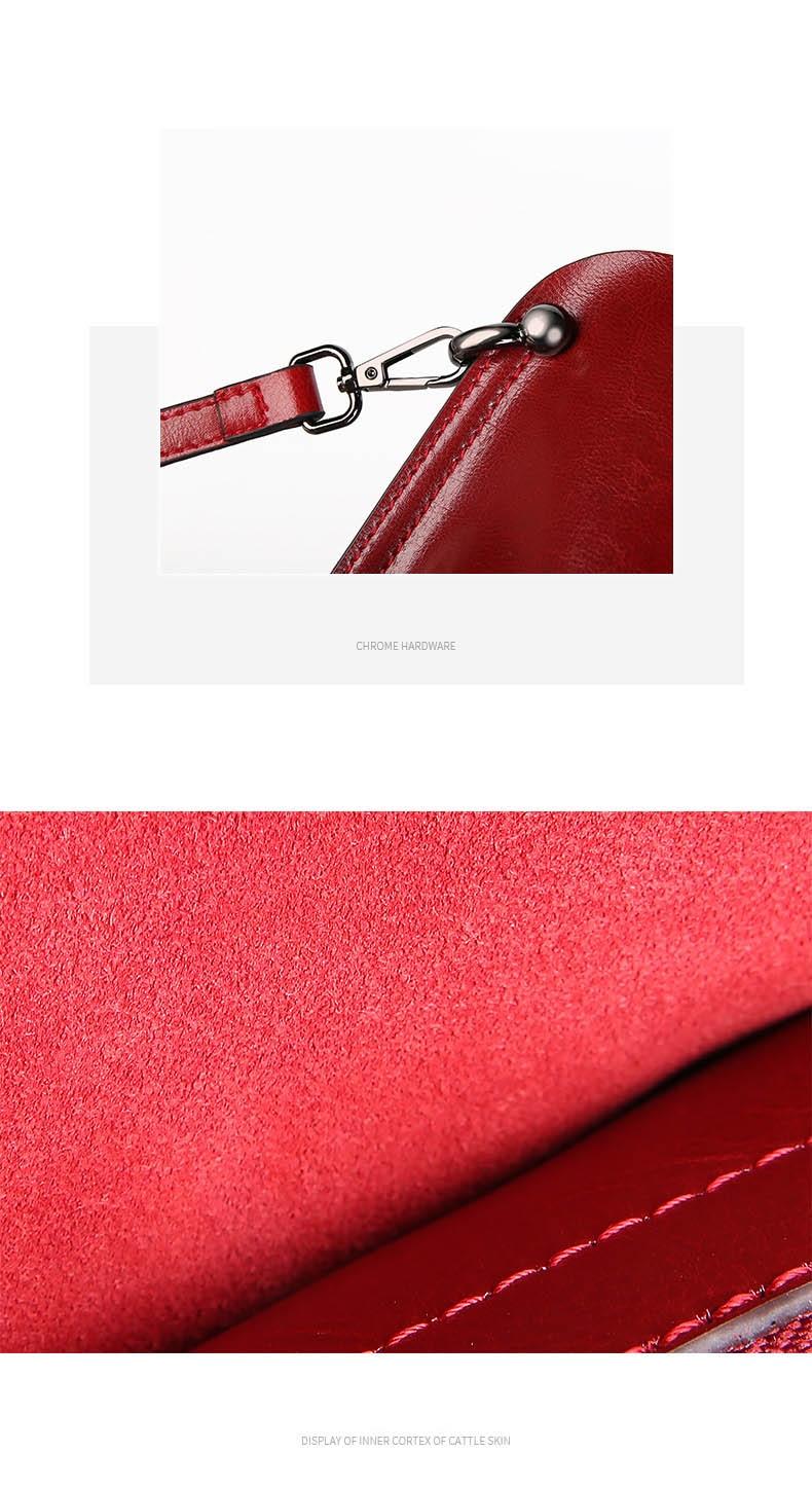 de ombro feminino luxo bolsas de couro