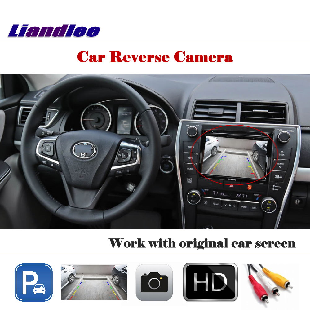 Liislee Car Rear View Camera Back Up Reverse For Toyota 2010 Camry Backup Wiring Diagram Liandlee Auto Xv50 20112017 Hd Ccd