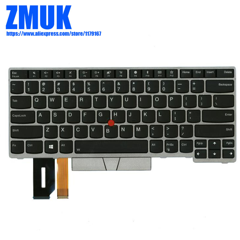 New Original US English Backlight keyboard For Lenovo Thinkpad E480 T480S L380 (L380 Yoga) Series,P/N 01YN420 SN20P34962 01YN340 new original backlit keyboard for lenovo thinkpad p70 p50 us english backlight keyboard 00pa288 00pa370